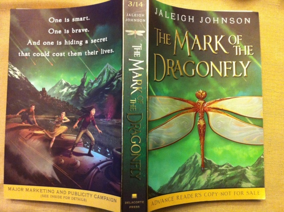 Book Review: The Mark Of The Dragonfly by Jaleigh Johnson (Coming out in March, 2014)
